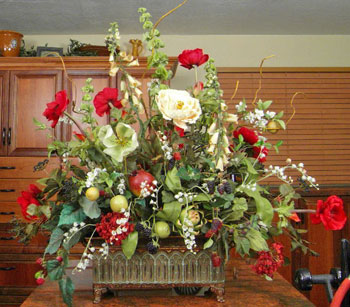 Create this decorative  floral arrangement with easy to follow steps