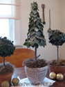 Topiaries as Christmas Decorating Ideas