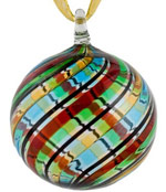 Venetian glass Christmas ornament
